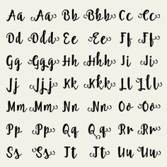 Full Alphabet Cutfile - SVG Studio3 DXF EPS font - for Cricut and Silhouette Cameo - Cute Fun Brush Font - clean cutting digital files PLEASE NOTE that this is NOT font-software and can NOT be installed as .ttf or .otf so you can type away on your keyboard. The alphabet/letters in these files are outlined to GRAPHICAL ELEMENTS made for cutting. This means you can see each letter as an image which you will have to position seperately, using your cutting software. ✒----------✂----------✂...