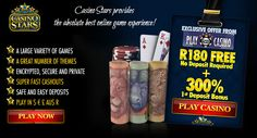 Online Casino Games, Online Casino Bonus, Play Casino, South Africa, Have Fun, Africans, Stars, Free, Sterne