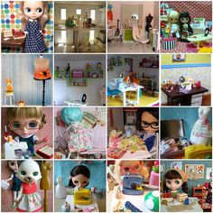 Dolly sewing room inspiration