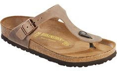 """Birkenstock <span class=""""color"""">Tobacco</span> <span class=""""material"""">Oiled Leather</span> <span class=""""silhouette"""">Gizeh</span>"""