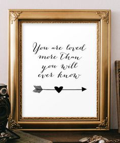 You are loved quotes Scripture art Nursery by TwoBrushesDesigns #lovequotes
