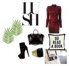 """Untitled #38"" by zina1002 ❤ liked on Polyvore featuring Givenchy, Christian Louboutin, Balmain, David Yurman, One Bella Casa, women's clothing, women's fashion, women, female and woman"