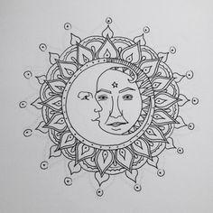 """Your Karma"" | Sun & Moon Mandala"