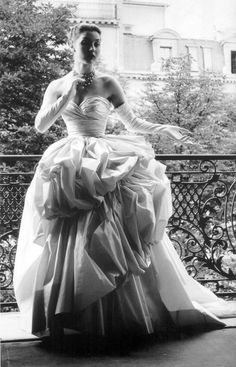 Photo by Willy Maywald - 1953 Dior