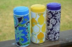 """""""Summer Social"""" Guest Project — Make an Embellished Grocery Bag Container!! {great item to keep in your car}"""