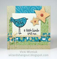June SOTM & Footloose Card Vicki Wizniuk