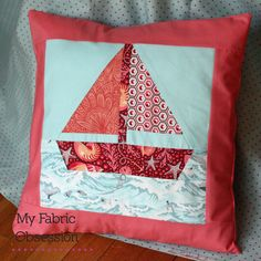 My Fabric Obsession: Nautical Quilt - take 2