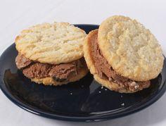 Cool Summer Ice Cream Sandwich Cookie Recipe - #Easy #Kids #Recipe #Summer #Dessert  www.AZFoothills.com