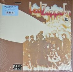 LP LED ZEPPELIN - LED ZEPPELIN II (180 GRAMAS, REMASTERIZADO)