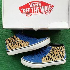 """d273b492a5 My Cuzin Vintage on Instagram  """"Supreme Velvet Leopard Vans. Size 9.5.  100"""