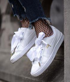 Sneakers femme - Puma Heart Patent (©milkywaysblueyes)