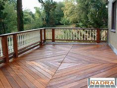 Ground Level - Decks - by Back To Nature www.btndecks.com 215.885.1866 - NADRA Gallery of Deck Pictures