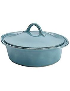 Rachael Ray 58997 Stoneware Casserole. -- Want additional info? Click on the image. (This is an affiliate link) #Casseroles Rice Cooker, Slow Cooker, Bakeware, Casseroles, Crockpot, Stoneware, Link, Image, Casserole Dishes