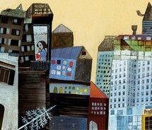 après noël : beatrice alemagna picture on VisualizeUs. Art and illustration Naive, Children's Book Illustration, Urban Landscape, Art Sketches, Collage Art, Illustrations Posters, Illustrators, Concept Art, Drawings