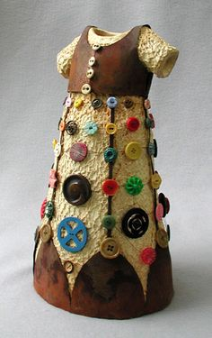 ButtonShop.ca - Ceramic and mixed media by Kathleen Holmes
