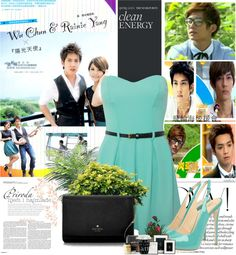 """Sunshine Angel Taiwanese Drama"" by melindairenes ❤ liked on Polyvore"
