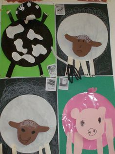 Farm Animal Crafts, Farm Animals, Kids Rugs, Psg, Tent, Stage, Fruit, School, Fashion