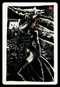 Gothic Maori Vampire by Mikaere Raimona