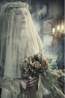 Miss Havisham, my kind of wedding dress!