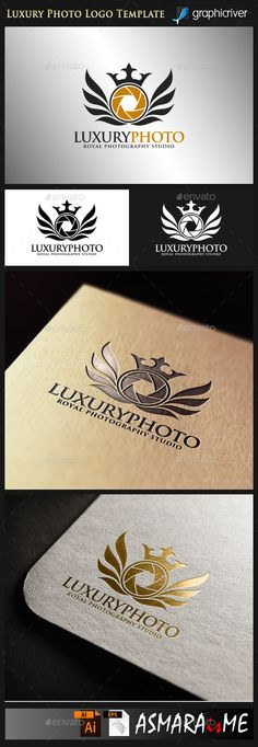 Camera Logo - Luxury Photo - Royal Photography Studio