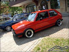 Mars Red VW Golf Mk1 | Flickr - Photo Sharing!