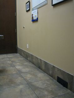 Central Vacuum kick plate in exam rooms