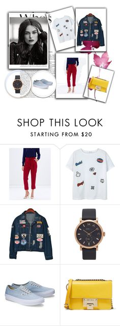"""90's are back"" by cludysskystyle ❤ liked on Polyvore featuring Atmos&Here, MANGO, Chicnova Fashion, Marc Jacobs, Jimmy Choo, polyvorefashion and 90sAreBack"