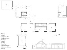 Pôdorys: 0 vstup 1 obývacia izba 2