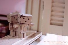 DANBO in 100 moments | 003 by caaphoto.deviantart.com on @DeviantArt ___ #caa #ronaldoichi #danbo #papercraft #papertoy #toy #still