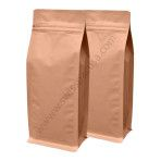4 Oz Kraft Flat Bottom Bag With Tear Zipper at Price : $285.00 • Approximate Size: 3.7inch' X 7.2inch' X 2.3inch' (95mm x 185mm X 60mm) • 5000+ Order Quantity = 5% Discount!