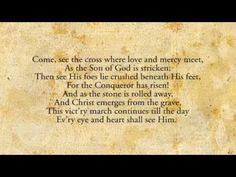 "O Church Arise - Keith & Kristyn Getty    Love the lyrics to this song! Especially the line ""our call to war, to love the captive soul but to rage against the captor""    And also ""and Christ will have the prize for which He died--an inheritance of nations""  and the last four lines.........goodness! What a song! :)"