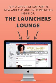 The Launchers Lounge is created to empower you as a new or aspiring entrepreneur to feel confident in sharing your business journey and have full support along the way. The Lounge is built on support and collaboration as you start and build your business. via @CaressaLenae | Business Strategist + Blogging + Mompreneur | Business Strategist + Blogging + Mompreneur www.facebook.com∕...