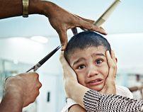 Barbershop, Singapore by Brendan Fitzpatrick, via Behance
