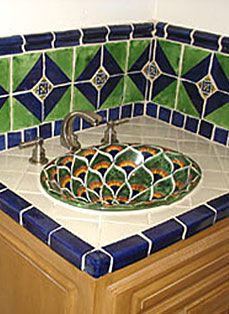 Idea, tricks, and guide beneficial to getting the most effective outcome and also ensuring the maximum use of Bathroom Beadboard Ideas Hacienda Homes, Mexican Home Decor, Mediterranean Style Homes, Bath Decor, Bath Design, Mexican Designs, Bathroom Beadboard, Hall Bathroom, Bathroom Ideas