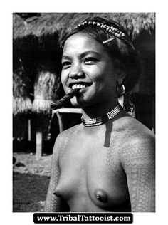 Igorot Girl / Igorot Tribe - Philippines