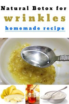 Natural Botox for wrinkles: Homemade recipe