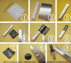 DIY Samurai Sword/Kill Bill push pins