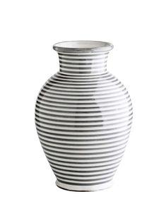 Vase Stripes grey von TineKHome