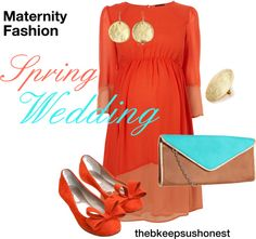 Maternity Fashion - Spring Wedding (love the colors for an outfit) Cute Maternity Outfits, Maternity Wear, Maternity Fashion, Pregnancy Fashion, Spring Maternity, Pregnancy Outfits, Maternity Style, Baby Bump Style, Mommy Style