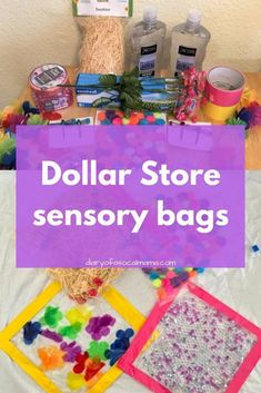 Learn how to make sensory bags for infants with items from the dollar store. Babies will love these fun activities during tummy time. Easy DIY for busy moms. Source by ptnchicago and me activities Baby Activities 1 Year, Toddler Learning Activities, Infant Activities, Activities For Kids, Science Activities, Diy Sensory Toys For Toddlers, Diy Sensory Toys For Babies, Diy Educational Toys For Babies, Autism Sensory Activities