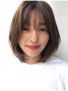 Japanese Short Hair, Asian Short Hair, Japanese Hairstyle, Short Hair Styles Easy, Asian Hair, Girl Short Hair, Short Hair Cuts, Medium Hair Styles, Under Hair Dye