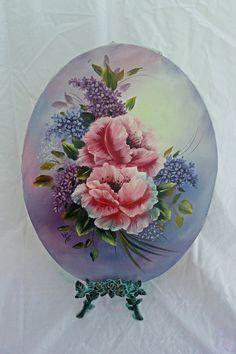 Painting Floral Oil by ATreasuredKeepsake on Etsy, $105.00