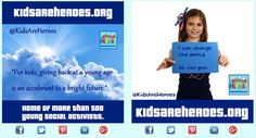 Kids Are Heroes Share Our Story page