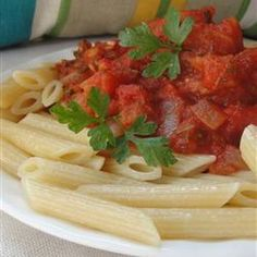 Make Ahead Pasta Sauce