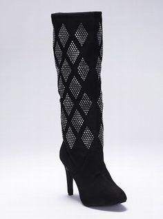 7a6488cd208 Diamond Rhinestone Boot - Colin Stuart - Victoria s Secret ...kinda cute.  Definitely