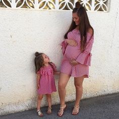 We ❤️ mini me trending 😊 👉 @chantellechamps ⭐️ Another fab maternity outfit from boohoo ⭐️ Link in bio to shop  WEBSITE - WWW.KIDZOOTD.COM  For a chance to be featured #kidzootd follow @kidzootd  #fashion#ootd#kidsfashion#kids#kidzootd#instafashion#childrensfashion#kidswear#childrenswear#style#stylish#trendy#maternitydress#minime