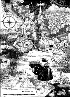 Sidney Sime's Map of Dreams
