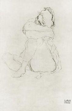 Gustav Klimt - Seated Woman
