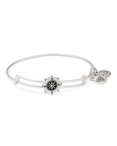 Alex and Ani Compass Slider Expandable Wire Bangle | Bloomingdale's