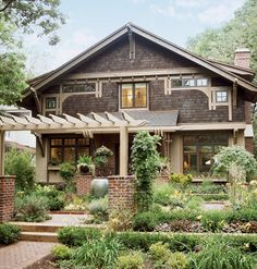 "An ""Arts and Crafts"" style bungalow"